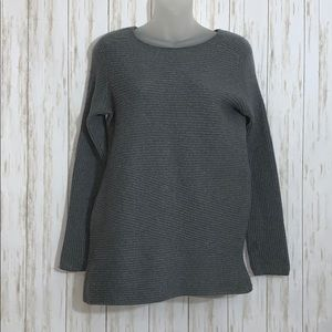 Size L J. McLaughlin Wool Ribbed Sweater